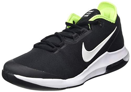 Nike Wildcard HC, Zapatillas de Tenis Hombre, Negro (Black/White-Volt 007), 44 EU