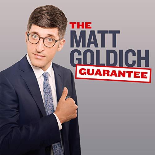 Diseño de la portada del título Matt Goldich: The Matt Goldich Guarantee