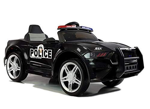 fit4form Kinder Elektroauto GT Raptor Police 12V Kinderfahrzeug Kinderauto elektrisch Polizei