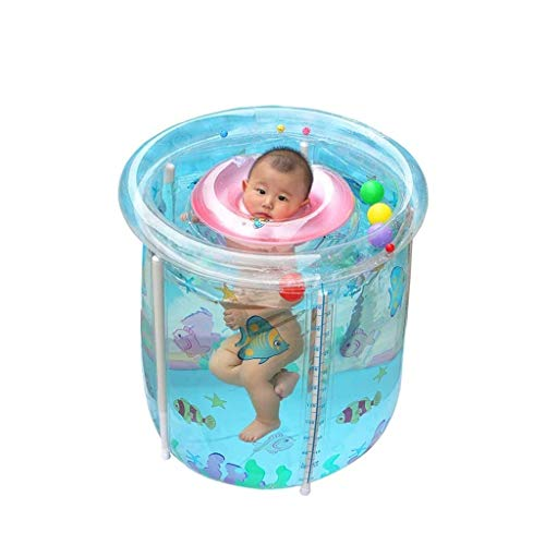 NXYJD Inicio Acolchado Bañera, Plegable Inflable for Adultos Bañera baño en barrica, el Almacenamiento Conveniente Bañera