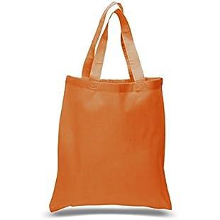 Set of 24 Blank Cotton Tote Bags Reusable 100% Cotton Reusable Tote Bags (2 dozen):Whiteox