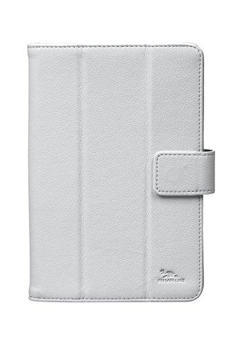 Rivacase 3112 WHITE funda para tablet 17,8 cm (7') Folio Blanco - Fundas para tablets (Folio, Universal, Samsung GALAXY tab3 7.0 Asus Fonepad Lenovo LePad, 17,8 cm (7'), 163 g, Blanco)