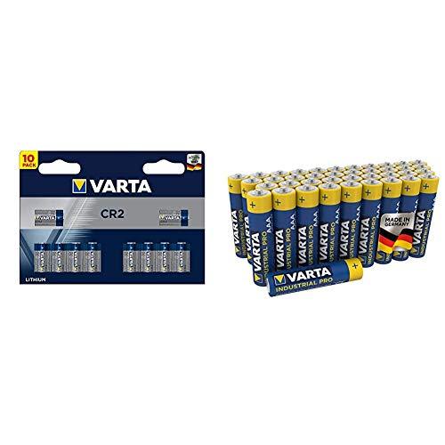 Varta Lithium CR2 10er Pack & Industrial...