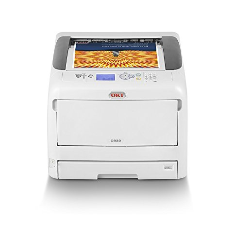 OKI C833n Color Drucker A3 netzwerkfähig