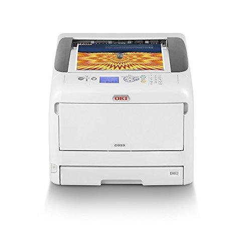 OKI C833dn Color 600 x 1200DPI A3 - Impresora láser
