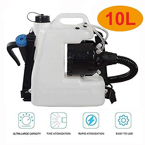 ZBHDC Portátil Desinfección eléctrica pulverizador, 10 L Pulverizador Eléctrico ULV Mochila para...