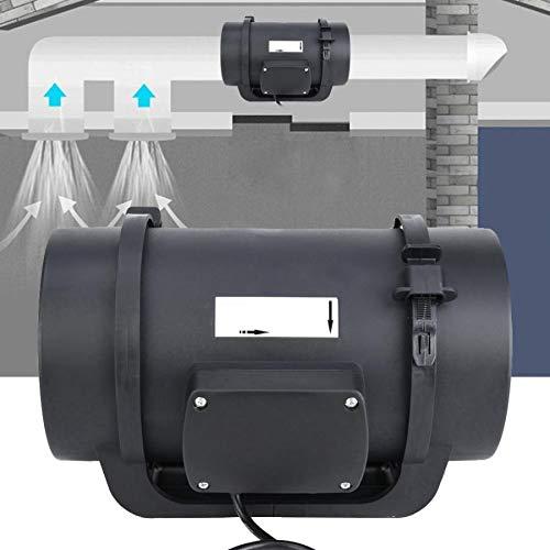 F-MINGNIAN-TOOL 1 set ventilatoren 6,3 in motor ECC-ventilatie afzuigkap Duct ventilator Intelligent Controller 470 CFM 100-240 V