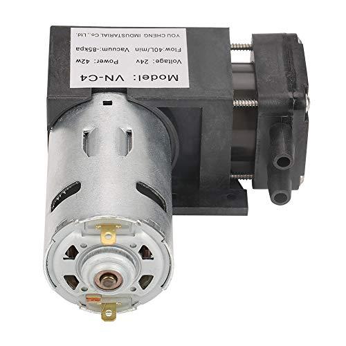 Mini Oilless Vacuum Pump, Oil Less Lubrication Oilless Vacuum Pump High Efficiency Low Noise for Air Conditioner Vacuum Pump for Brake Booster Vacuum Pump