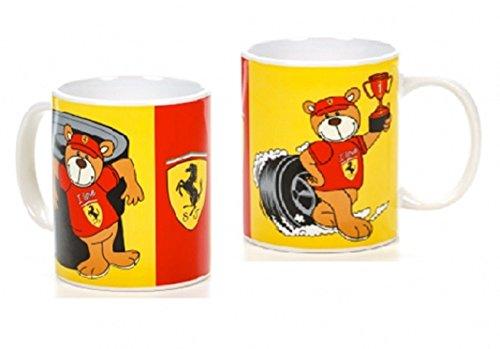 Sportbar 21610 Ferrari Racing Teddy - Taza, Color Rojo y Amarillo, Talla única