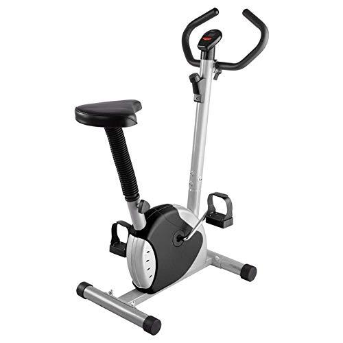 YLJYJ Cardio Bicicleta de Interior Bicicleta estática con asa Ajustable y cojín Pantalla LED Equipo de Ejercicios para ejercitar Brazos y piernas (Deportes)
