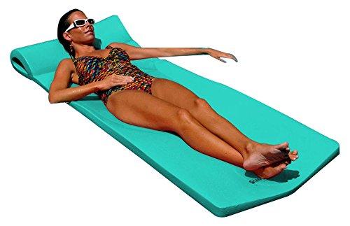 Pool Mate XX-Large Foam Mattress Swimming Pool Float, Teal