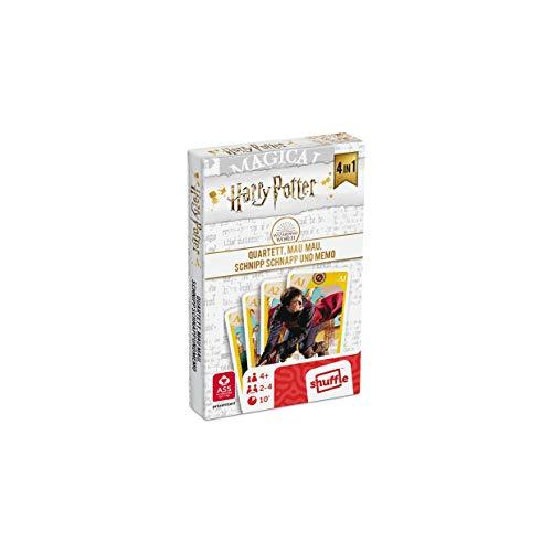 ASS 22584064 Harry Potter - Juego de Mesa 4 en 1 (cuarteto,...