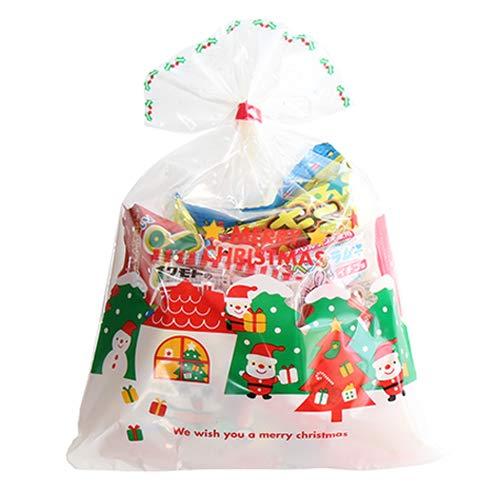 クリスマス袋 180円 お菓子 詰め合わせ(Aセット) 駄菓子 袋詰め おかしのマーチ