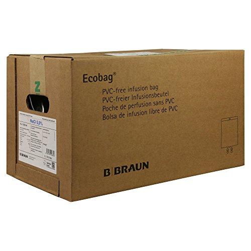 Natriumchlorid 0,9% Braun Ecobag Infusionslsg., 10X1000 ml