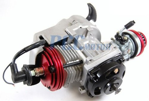 PCC MOTOR 49CC 2-STROKE HIGH PERFORMANCE ENGINE MOTOR POCKET MINI BIKE SCOOTER ATV EN06
