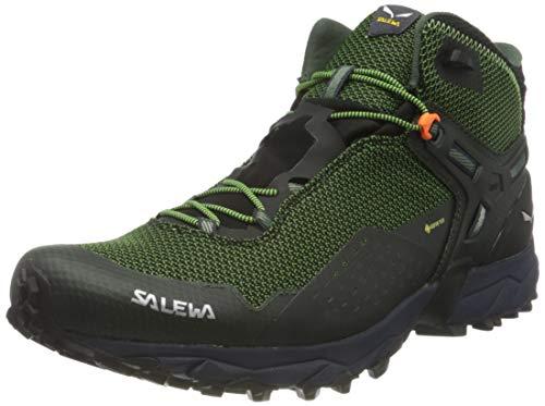 Salewa Herren MS Ultra Flex 2 Mid Gore-TEX Traillaufschuhe, Raw Green/Pale Frog, 45 EU