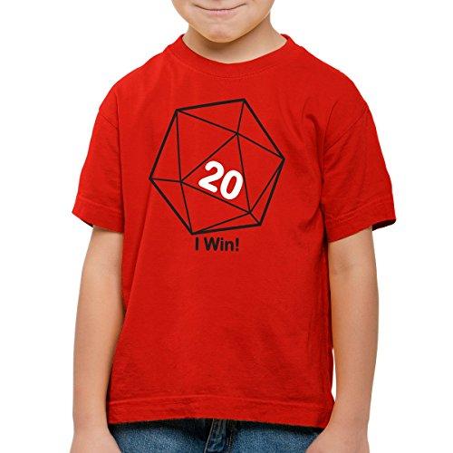 style3 Sheldon W20 Cubo Camiseta para Niños T-Shirt, Talla:164