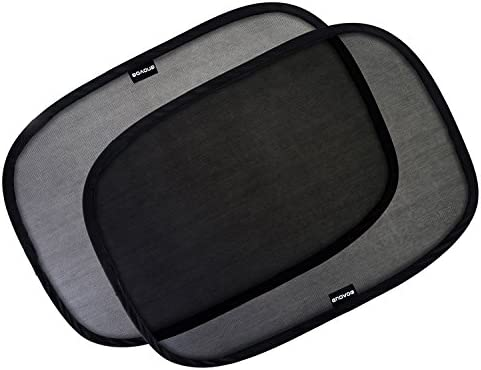 Enovoe Car Window Shade for Baby 2 Pack 19 x12 Cling Baby Sun Shade for Car Window Side Sun product image