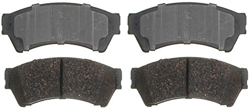ACDelco 14D1164CH Advantage Ceramic Front Disc Brake Pad Set