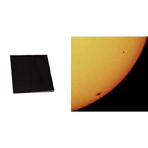 "4""x4"" Solar Filter Sheet for Telescopes, Binoculars and Cameras"