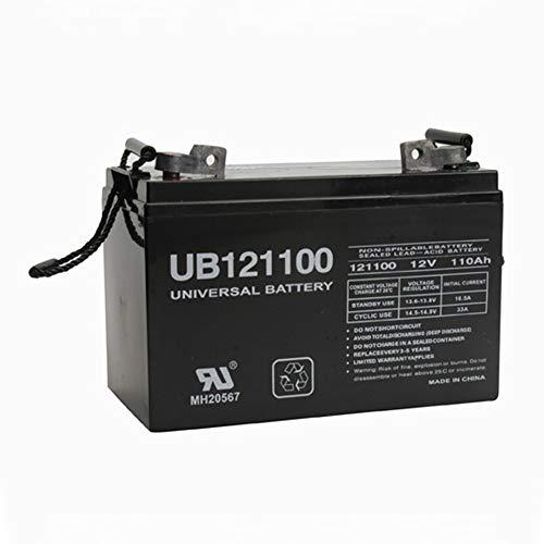 Universal Power Group 12V 110AH FL1 SLA Battery for Forklift Pallet Jack Mobile Home RV