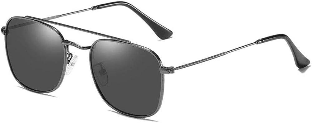 Femmes Nouveau design classique rétro polarisé miroir miroir lunettes de soleil filtre, dames lunettes de soleil surdimensionnées, cadre noir noir gris Cadre Noir Gris Noir