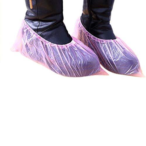 PXN 200Pcs Cubiertas de Zapatos Gruesas de plástico Desechables Cubierta de Zapatos...
