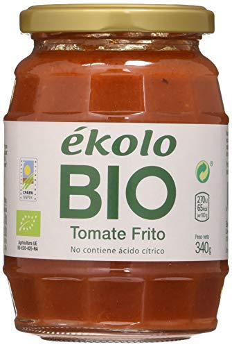 Ekolo  Tomate Frito Casero Ecológico, 6 Tarros * 340G 6 Unidades 1980 ml