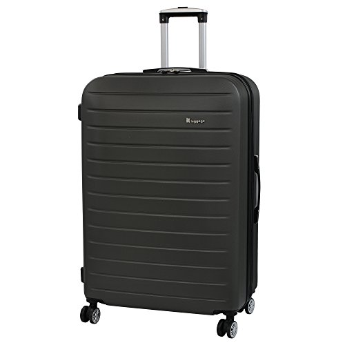 it luggage Legion 8 Wheel Large Spinner Expandable Hard Case Maleta, 80 cm, 161 Liters, Gris (Grey)