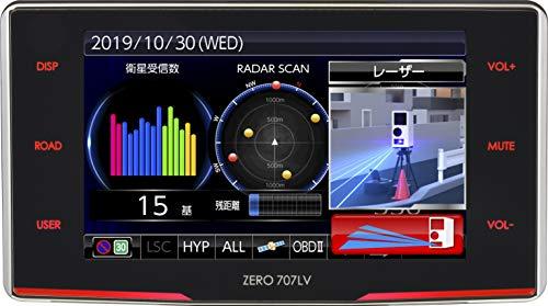 コムテック レーザー光対応レーダー探知機 ZERO 707LV 新型レーザー式オービス対応 取締共有システム搭載 ...