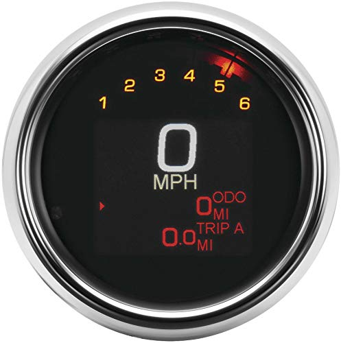 Dakota Digital MLX-3004 MLX Series Gauge Speedometer/Tachometer - 3-3/8in.