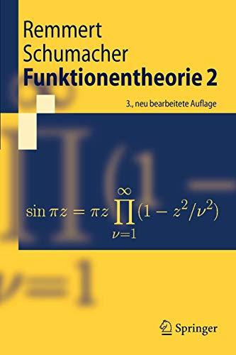 Funktionentheorie 2 (Springer-Lehrbuch) (German Edition)