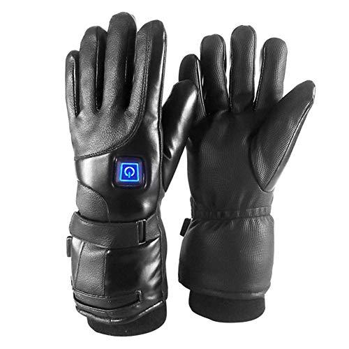 1 paar 7,4 V navulhandschoenen, verwarmingshandschoenen, thermostaat, 3 snelheden, thermostaat, verwarmingshandschoenen, winter, verwarming, skiën, motor, warme handschoenen voor mannen en vrouwen