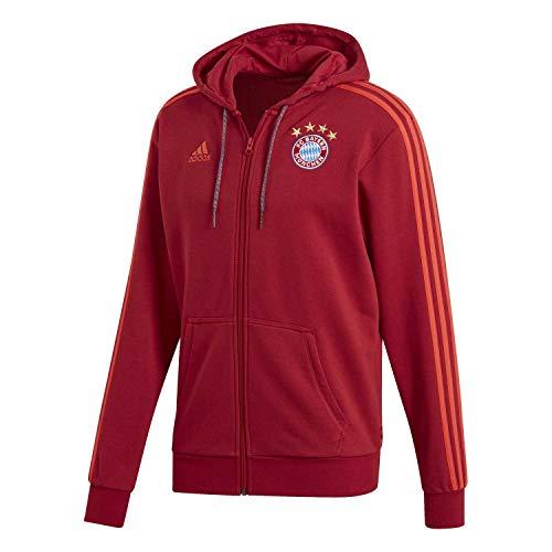 adidas FCB FZ Hd Sweatshirt für Herren S rot