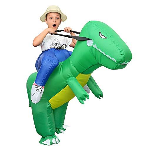 Inflatable Costume Dinosaur Halloween Costumes Dinosaur Ride on for Kids