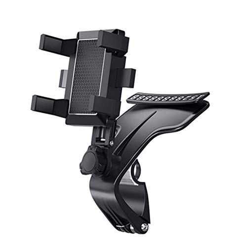 Upgraded Car Phone Holder, Dashboard Universal 360 Degree Rotation Cellphone Holder, Adjustable Bracket for 3-7 Inch Smartphones (1PC)
