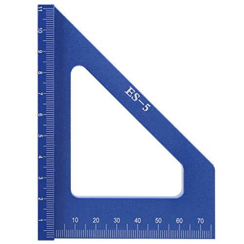 Calibre de línea de alta precisión, ligero, ángulo, trazador, aleación de aluminio, regla para trazar, trabajo manual para carpintero