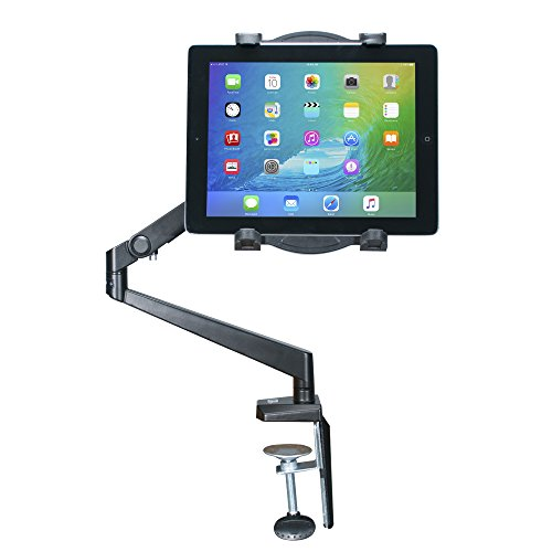 Cta digital: tabletop arm mount for 7-12-inch tablets, including the ipad 10. 2-inch (7th & 8th gen), 11-inch ipad pro (2018), ipad gen. 6 & 5 & more, gray