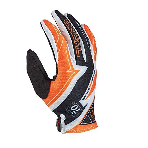 O\'NEAL | Fahrrad- & Motocross-Handschuhe | MX MTB Motocross Enduro Motorrad | Leichtes & einfaches Design für ein optimales Gefühl am Lenker | Vault Glove Racewear | Erwachsene | Schwarz Orange | Größe S