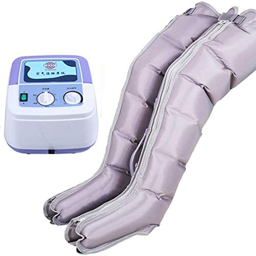 Air Compression Leg Massage Machine with Foot Massage Mat Circulation and Relaxation Deep Kneading Time Adjustment,Pressure Regulation for Men Women Mother Father Family Best Gifts Fauay