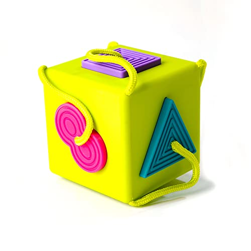 Fat Brain Toys FA120-1 OombeeCube-Sortierbox/Sorter Spiel
