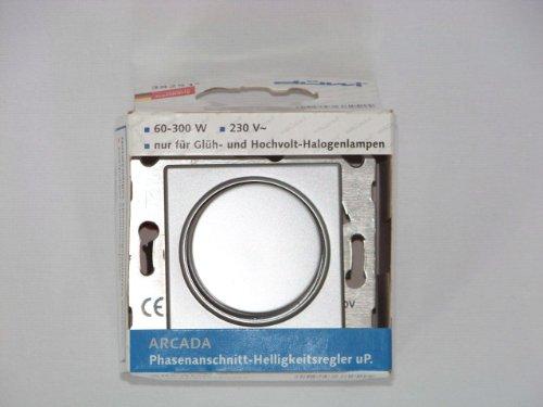 REV Ritter Arcada Phasenanschnitt-Helligkeitsregler chrom 38251