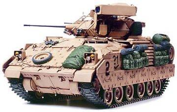 タミヤ 1/35 ミリタリーミニチュアシリーズ No.264 アメリカ陸軍 M2A2 ODS デザートブラッドレー プラモデ...