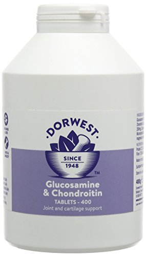 Dorwest Herbs Glucosamine and Chondroitin Tablets for Dogs 400 Tablets