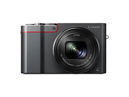 Panasonic LUMIX DMC-TZ101EGS Travelzoom Kamera (20,1 MP, 10x Zoom LEICA Objektiv, 4K, Sucher, 3-Zoll Touch LCD, silber)