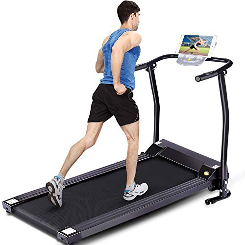 FUNMILY Electric Folding Treadmill for Home Workout, Ultra-Quiet & Shock-Absorbant, Portable...