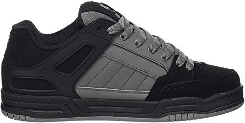 GLOBE Tilt, Zapatillas de Skateboard para Hombre, Negro (Black/Charcoal Split 20495), 42.5 EU