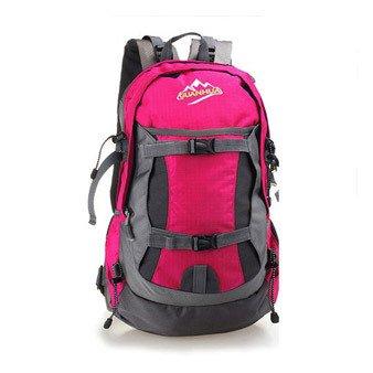 Nouvelle femelle ultra-léger sac à dos sac imperméable sport escalade sac à bandoulière sac , rose red