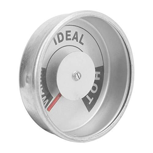 Fahrenheit, estructura de puntero precisa ± 3 ℃ Medidor de temperatura de aleación de aluminio Resistente y para equipos de alta temperatura