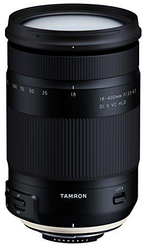 Tamron T80192 - Objetivo para cámara Nikon (18-400mm, apertura F/3.5-6.3 Di II VC HLD B028)